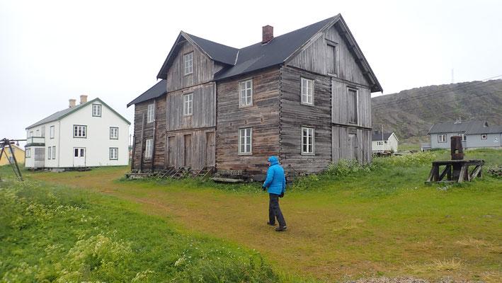 Bild: Hamningberg altes Haus
