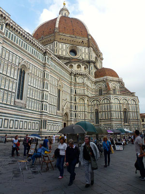 Bild: Basilica S. Maria del Fiore am Piazza del Duomo