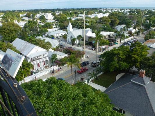 Key West von oben