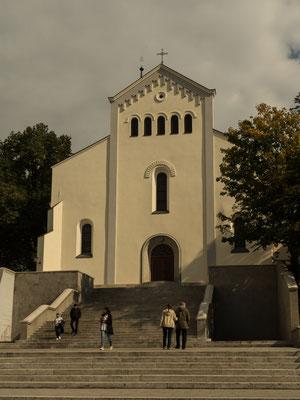 Bild: Bergelkirche von außen in Oppeln