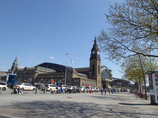 Bild: Hauptbahnhof von der Kunsthalle aus