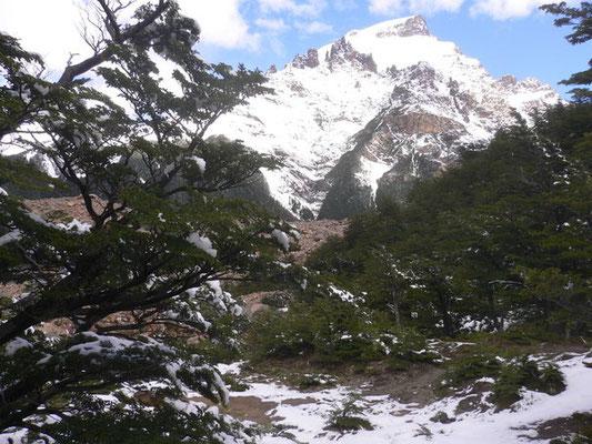 Bild: Schneebedeckte Berge