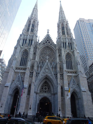 Bild: St. Patricks Church in New York