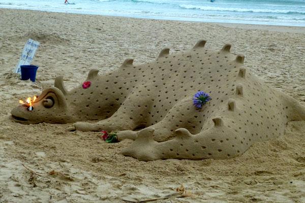 Bild: Sandfigur