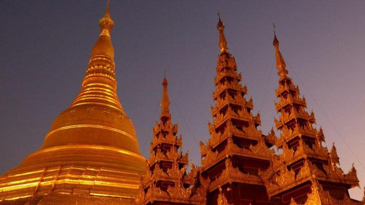Bild: Pagode in Myanmar