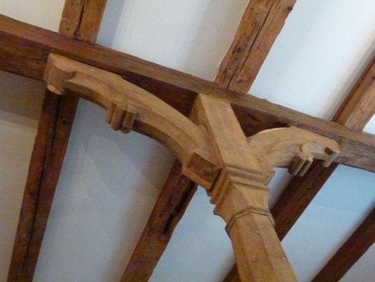 Bild: Alte Decke in der Kutscherscheune