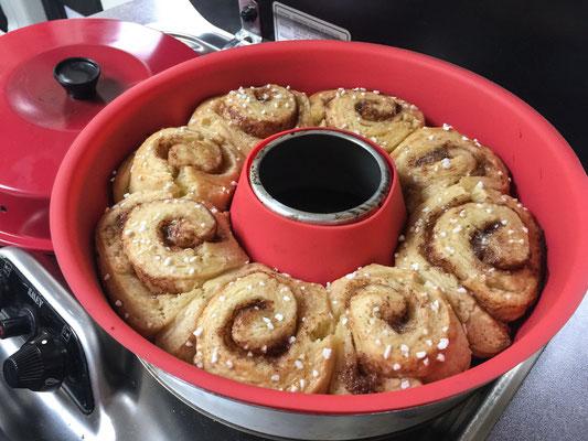 Bild: Unsere leckere selbstgebackene Torte