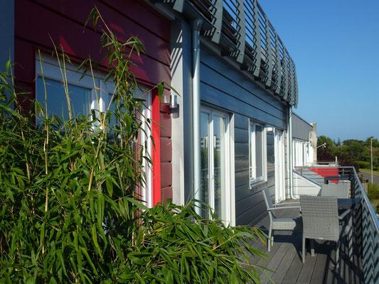 Am Rundsteg - Unser Appartement - Am Südstrand von Burgtiefe