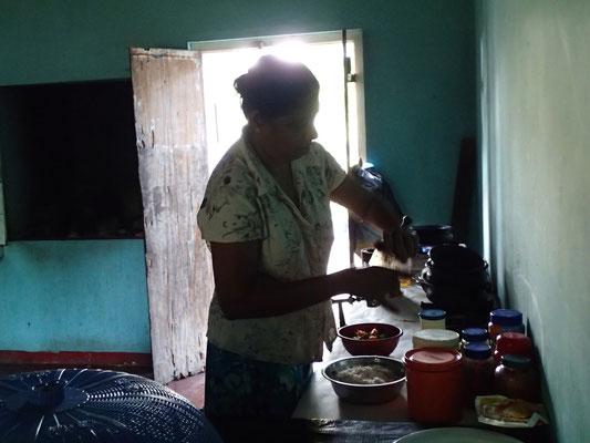 In unserer Küche
