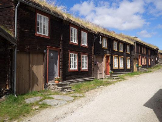 Bild: Strohgedecktes Haus in Norwegen