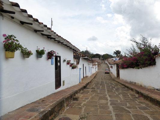Bild: Alte Straße von Barichara - Foto 2