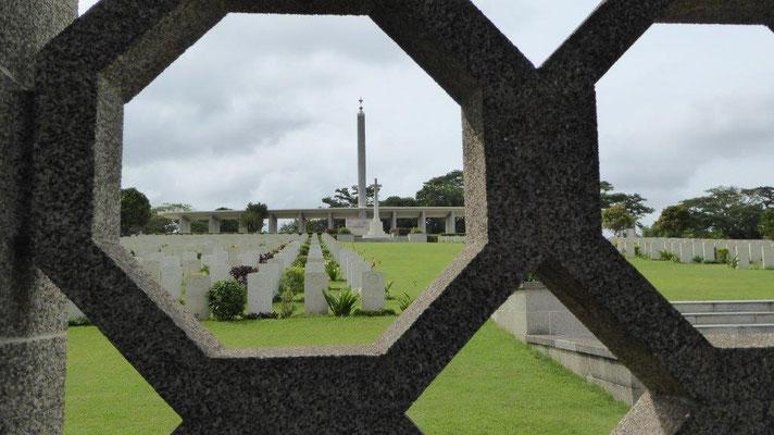 Bild: Die Kranji-Gedenkstätte in Singapur