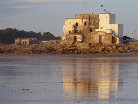 Bild: Alte Burg in Sidi Kaouki