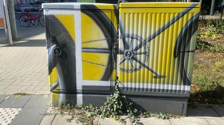 Bild: Kunst auf Stromkasten