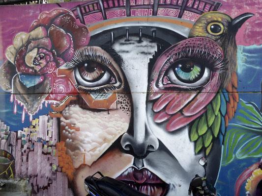 Bild: Graffiti in Medellin