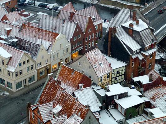 Bild: Lüneburg von oben