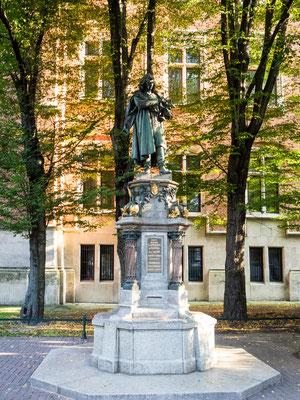 Bild: Universitätsbrunnen von Krakau