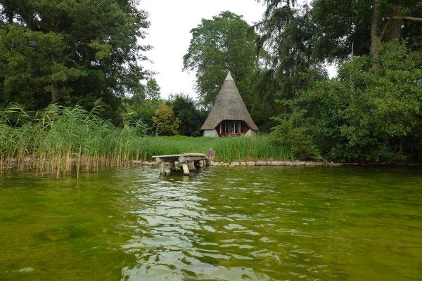 Bild: Hütte auf der Insel