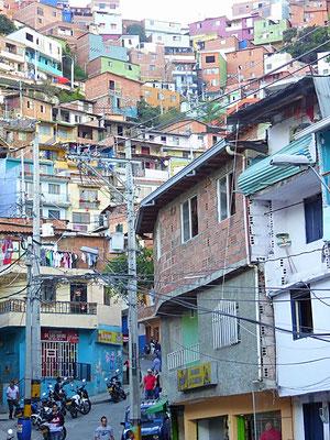 Bild: Slumviertel von Medellin