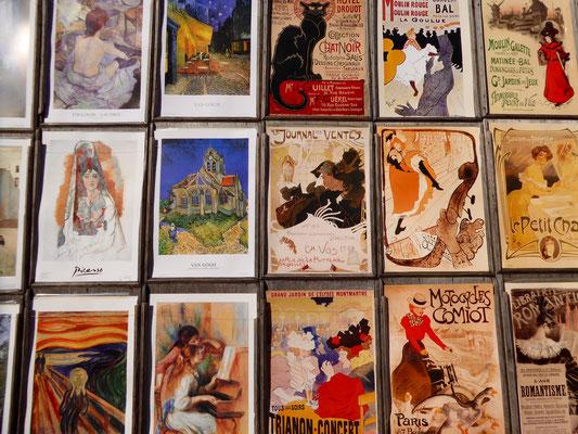 Bild: Künstlerarbeiten in Montmartre