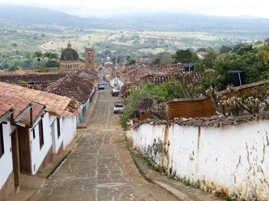 Bild: Alte Straße von Barichara - Foto 1