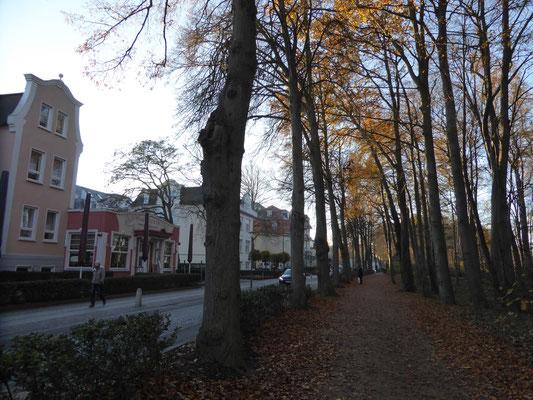 Bild: Die Straße vor unserem Hotel