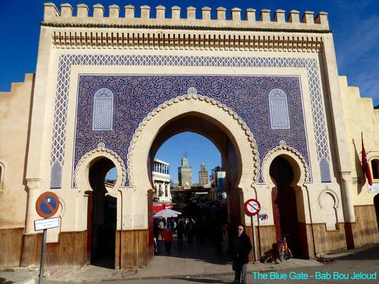 Bild: Altes Festungstor von Fez