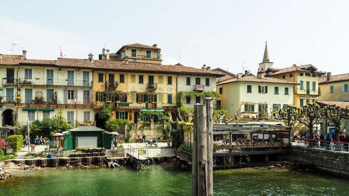 Bild: Das Herrenhaus auf der Insel Isola Bella