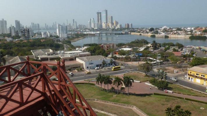 Bild: Blick auf die Stadt Cartagena - Foto 1