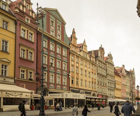 Bild: Der Rynek Markplatz in Breslau - Foto 1