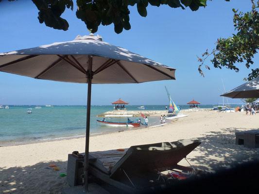 Bild: Strand in Sanur auf Bali - Foto 1