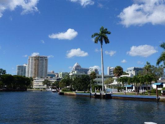 Bild: Kanäle in Fort Lauderdale