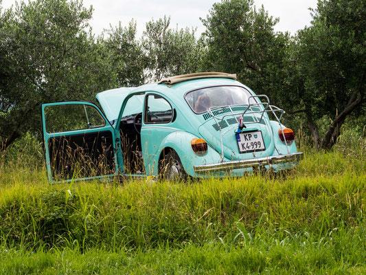 Der alte VW Käfer