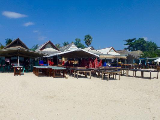 Bild: Hotelanlage am Strand von Jimbaran