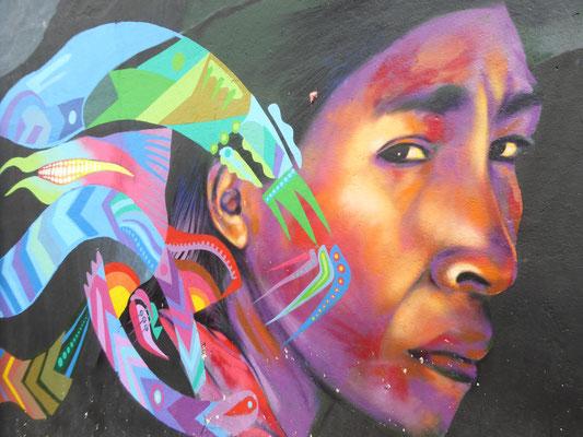 Bild: Mural in der Straße Funnel