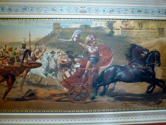 Bild: Großes Wandgemälde