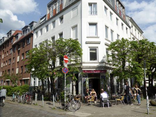 Bild: Straßenrestaurant- und Cafés in der Schanze die ihr südlichen Flair verleihen - Foto 4