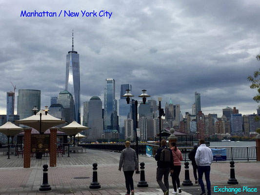 Bild: Manhattan vom Exchange Place aus