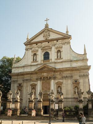 Bild: Maria Magdalena Kirche in Krakau von außen