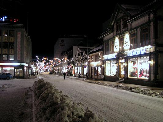 Bild: Straße von Tromsö