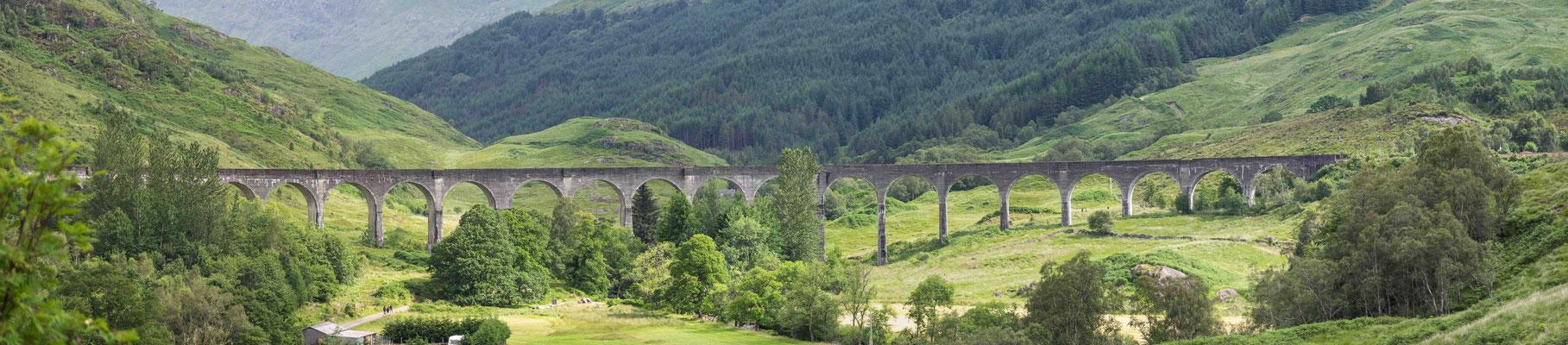 Bild: Das Glenfinnan Viadukt