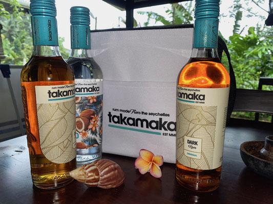 Bild: Die Rumsorten Takamaka