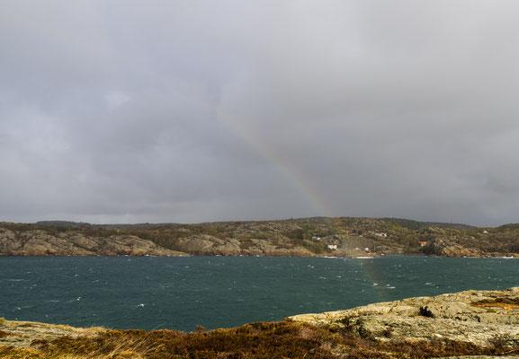 Bild: Das Ende des Regenbogens