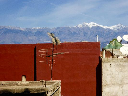 Bild: Blick über die Stadt Taroudant in Marokko