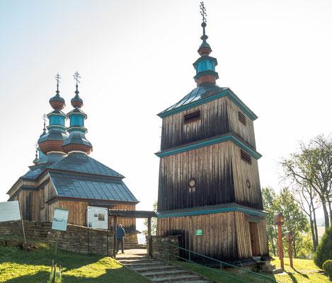 Bild: Holzkirche Komańzca in Polen - Foto 2
