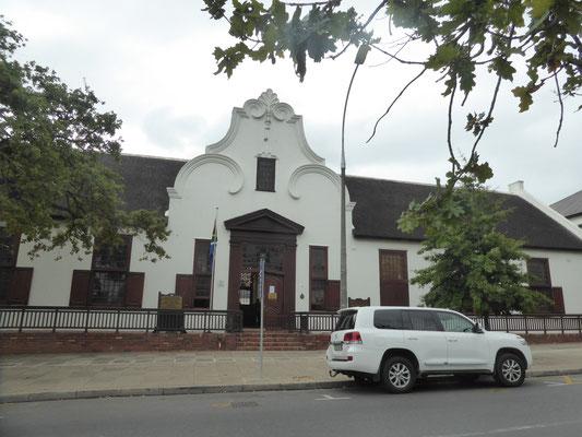 Bild: Altes Haus in Stellenbosch