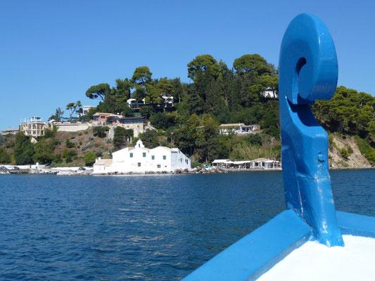 Bild: Fahrt zur Insel