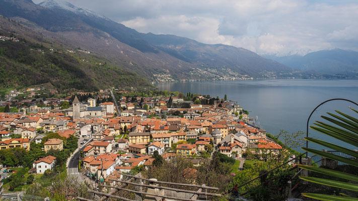 Bild: Blick auf Cannobio