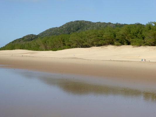 Bild: Der tolle Strand von Cape Vidal im Norden des Parks