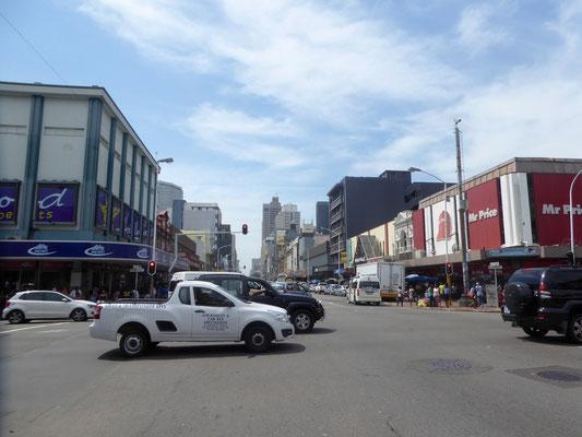 Bild: Blick in eine Straße
